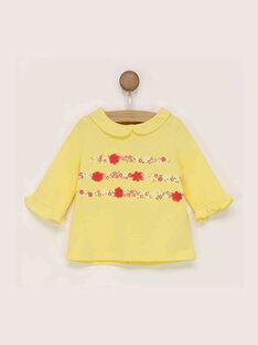 Yellow Baby blouse RADIANE / 19E1BF61BRAB105