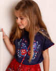 T-shirt short sleeves blue horizon child boy ZOTISETTE / 21E2PFB1TMC216