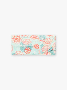 Headband printed lotus flowers ZACINDY / 21E4BFI2BAN629