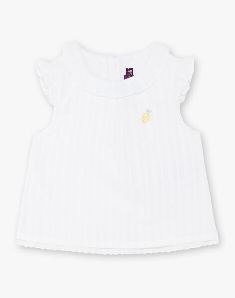 White BLOUSE ZANORA / 21E1BFO1CHE000