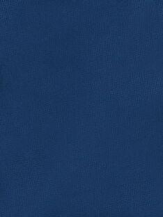 Navy blue and red cotton Bermuda shorts ZAFUNAGEEX / 21E3PGI2BER705