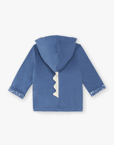 Hoody blue gentian baby boy hoodie ZAEMIL / 21E1BGB1JGHC230