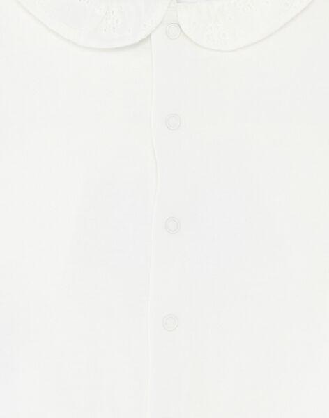 Off white BABY BLOUSE ZAPLUME / 21E1BFT1BRA001