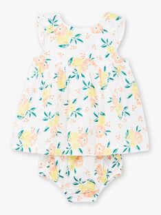 White baby girl dress ZANOEMIE / 21E1BFO1ROB000