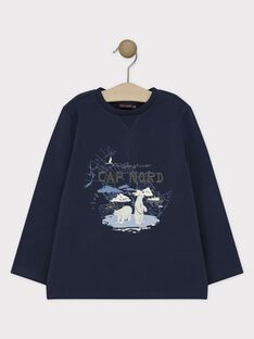 Navy T-shirt SIFRAGE / 19H3PGN1TML713