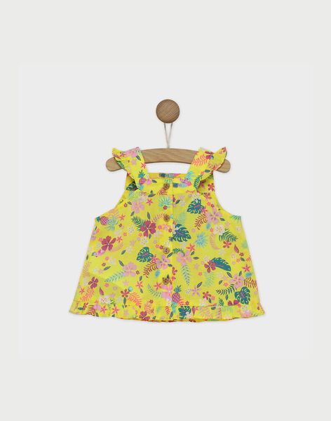 Lemon yellow Blouse RAVIVIA / 19E1BFQ1CHE108