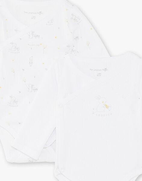 Set of 2 mixed baby bodysuits ZOALIX / 21E0NMG1BOD000