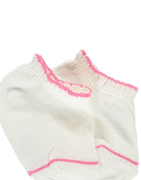 Off white Low socks RYCORALY / 19E4BFT1SOB001