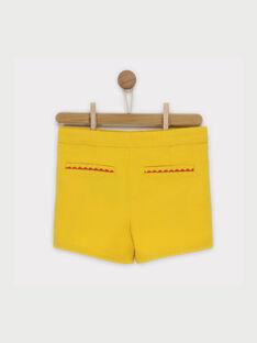 Yellow Shorts RAFONIETTE / 19E2PFC1SHO107
