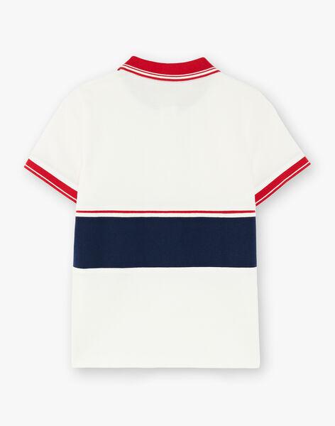 Child boy polo shirt ZAZPLAGE2 / 21E3PGK3POL001