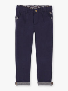Navy blue pants VOBUMAGE / 20H3PGY1PAN713
