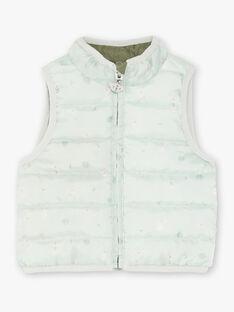 Sleeveless khaki jacket ZUBENITO / 21E1BGM1GSM604