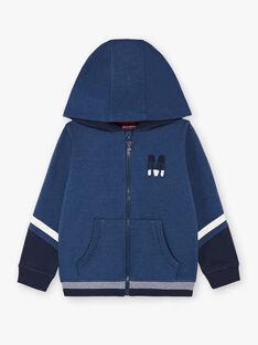 Baby boy navy hoodie BAPAGE1 / 21H3PG34JGHC212