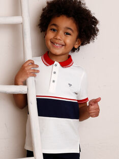 Child boy polo shirt ZAZPLAGE2 / 21E3PGK3POL001