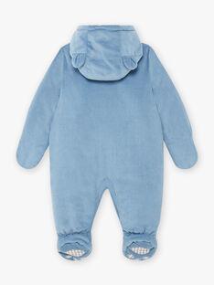 Baby boy blue corduroy pilot BIRACHEL / 21H1BGE2PIL216