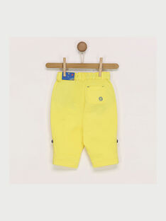 Yellow pants RAEDMONT / 19E1BGC1PAN412