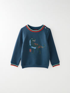 electric blue SWEAT SHIRT VUDINOAGE / 20H3PGS1SWE215