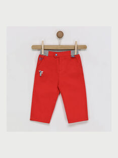 Red pants RAPIERRE / 19E1BGH1PANF506