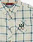 Children's boy's shirt ZACLAGE / 21E3PG71CHMG619