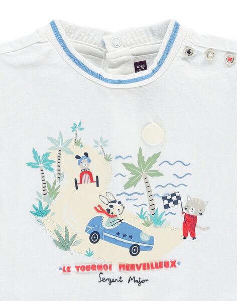 White T-shirt RAPABLO / 19E1BGH1TMC000