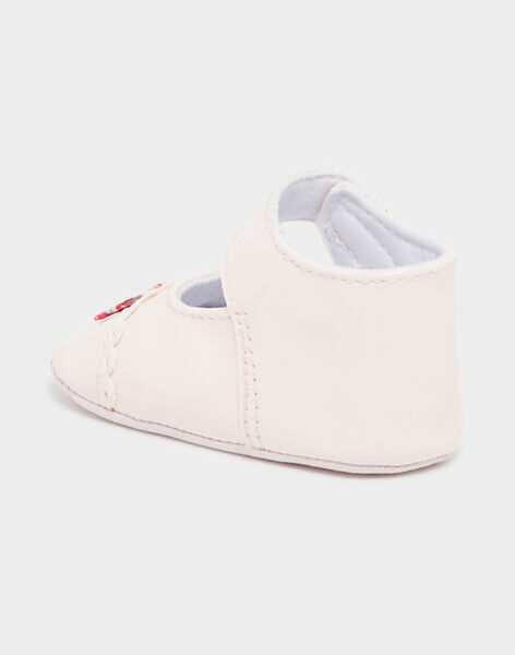 Pale rose BABY SHOES TUVOLANT / 20E0AFR1BOT301