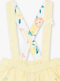 Yellow SHORTS ZANETTY / 21E1BFO1SHOB104