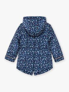Reversible navy blue hooded parka ZOUREVETTE / 21E2PFM1PAR070