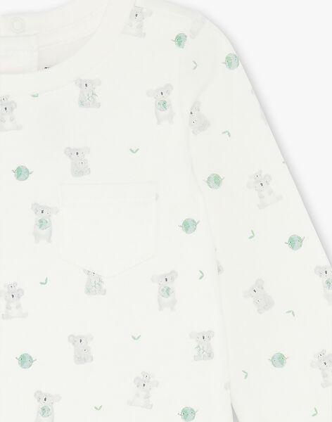 Printed long sleeved bodysuit ZAANGELO / 21E1BG71BOD009