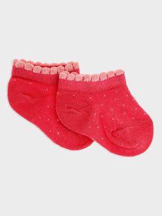 Pink Low socks SACHAUSSE / 19H4BF31SOBD325