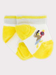 Off white Low socks RYDOMI / 19E4BGS1SOB001