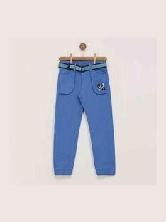 Navy pants REDIJIAGE / 19E3PGC1PANC202