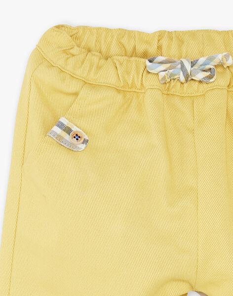 Yellow PANTS ZACLEMENT / 21E1BG91PANB114