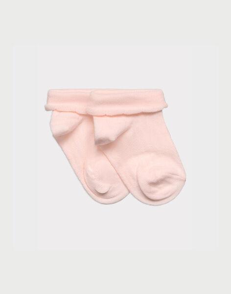 Pink Low socks ROSARIETTE / 19E4PFD1SOBD310