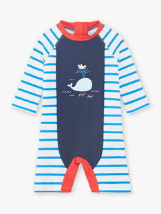 White baby boy bathing suit ZIRENAUD / 21E4BGR2CBBC201