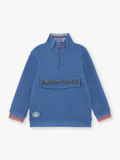 Blue SWEAT SHIRT ZECOAGE / 21E3PGB1SWEC230
