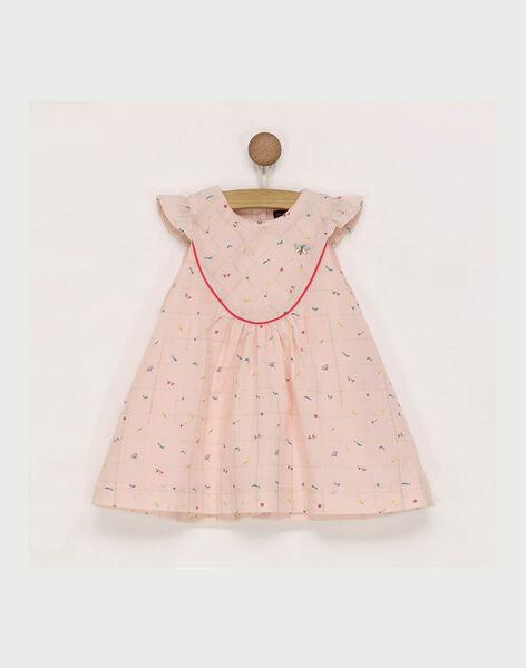 Pale rose Chasuble dress RADAMIENE / 19E1BF61CHS301