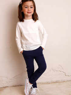 Children's pants girl ZLUPETTE1 / 21E2PFK1PANC214
