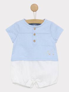 Medium blue Jumpsuit RYGUSTAVE / 19E0CGI1CBL208
