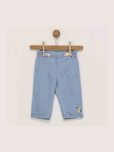 Blue denim Jeans RAINEL / 19E1BFD1JEA704