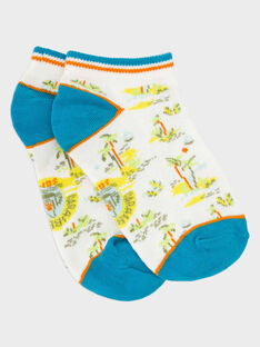 White Low socks RUSOCAGE / 19E4PGQ1SOB000