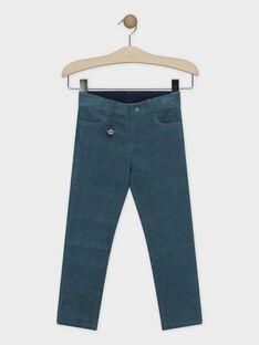 Lagoon blue pants SIMURAGE / 19H3PGN2PAN210