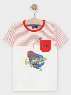 White T-shirt TEVIAGE / 20E3PGH1TMC000