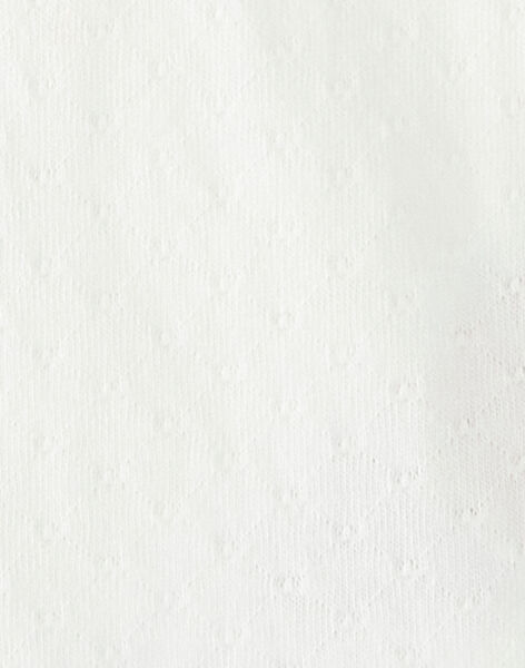 Off white BABY BLOUSE VAISTINEEX / 20H1BFM1BRA001