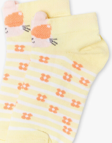 Yellow LOW SOCKS ZICALETTE / 21E4PFO1SOBB104