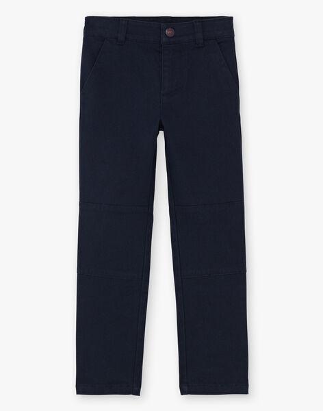 Boy's Navy Blue Pants BEGRAGE / 21H3PG52PAN070