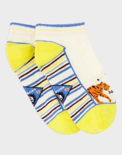 off white Low socks ROCHOSAGE / 19E4PGM1SOB632
