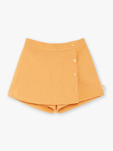 Camel skort child girl ZESHOETTE / 21E2PF91SHO804