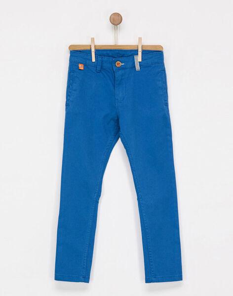 Medium blue pants NAJULAGE / 18E3PG71PAN208