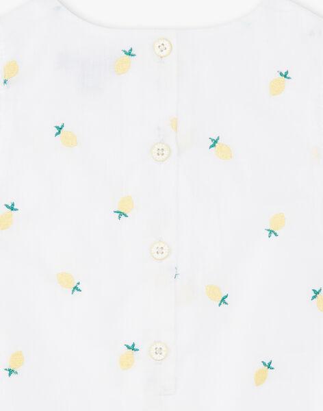 White ROMPER ZANELLY / 21E1BFO1BAR000