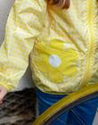 Yellow windcheater with hood and print ZOUVICHETTE / 21E2PFM1CPV106